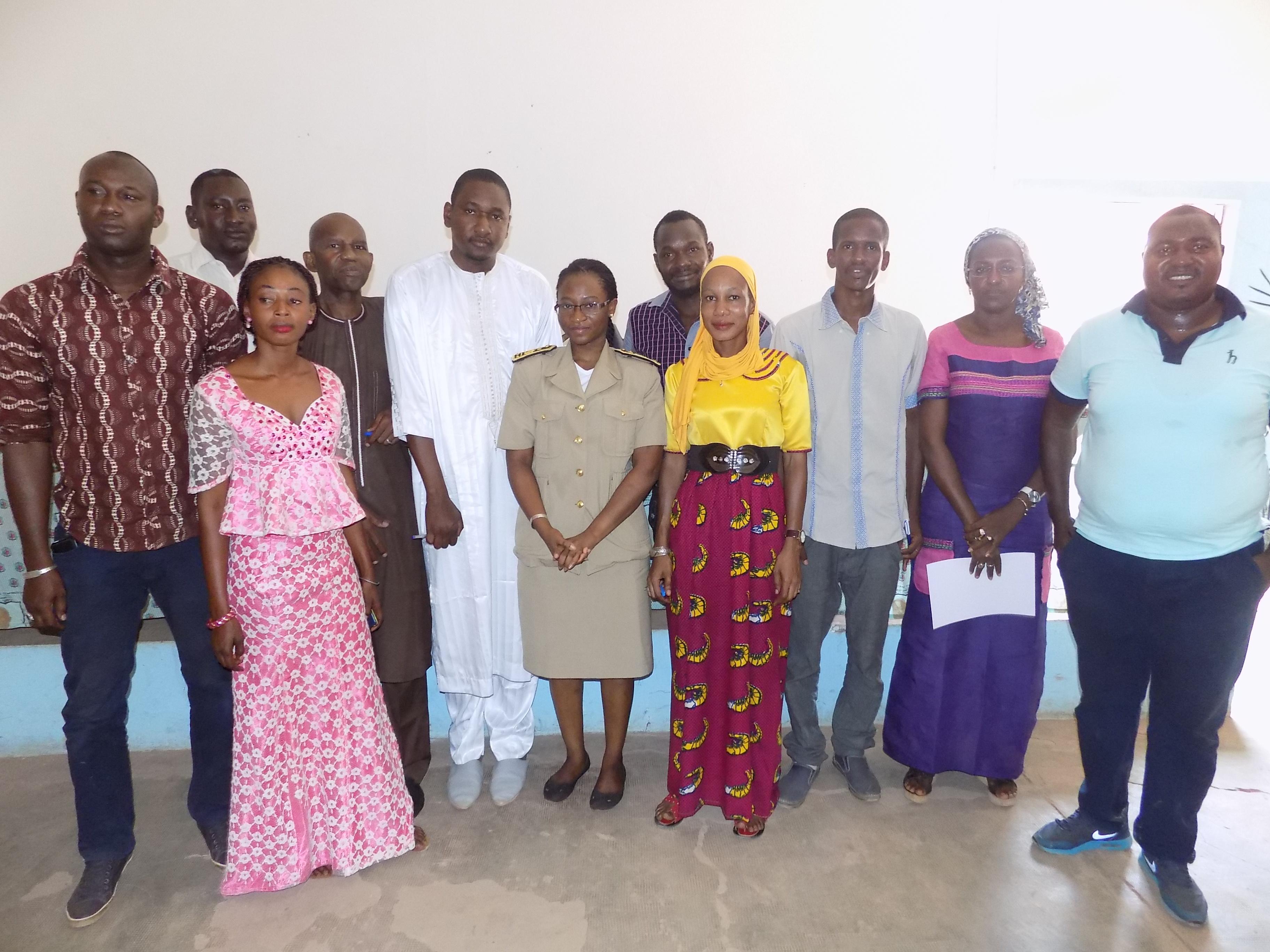 Tambacounda le bureau du réseau régional des jeunes pour la